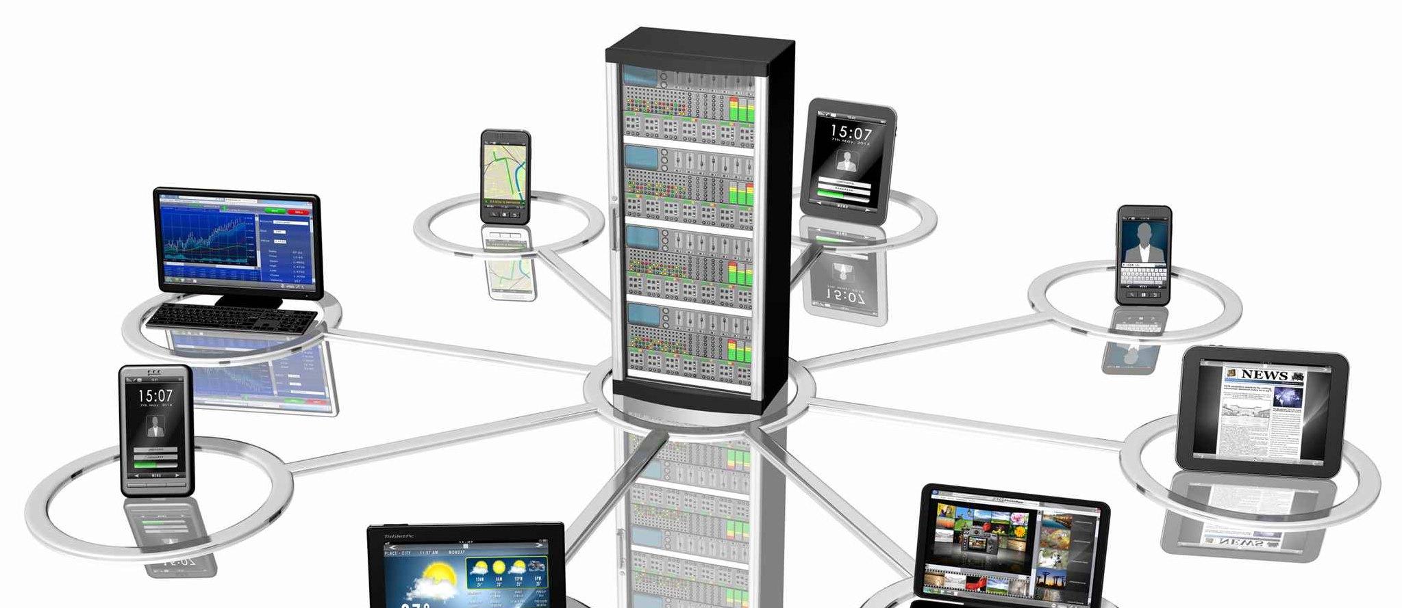 Server-Vernetzung